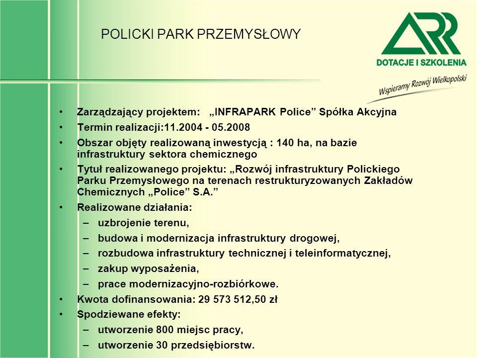 POLICKI PARK PRZEMYSŁOWY