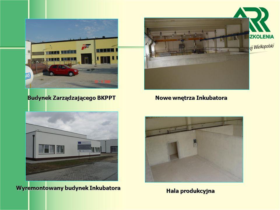 Budynek Zarządzającego BKPPT Nowe wnętrza Inkubatora