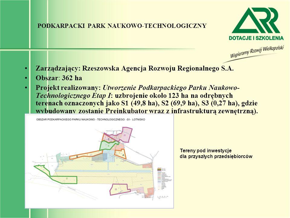PODKARPACKI PARK NAUKOWO-TECHNOLOGICZNY