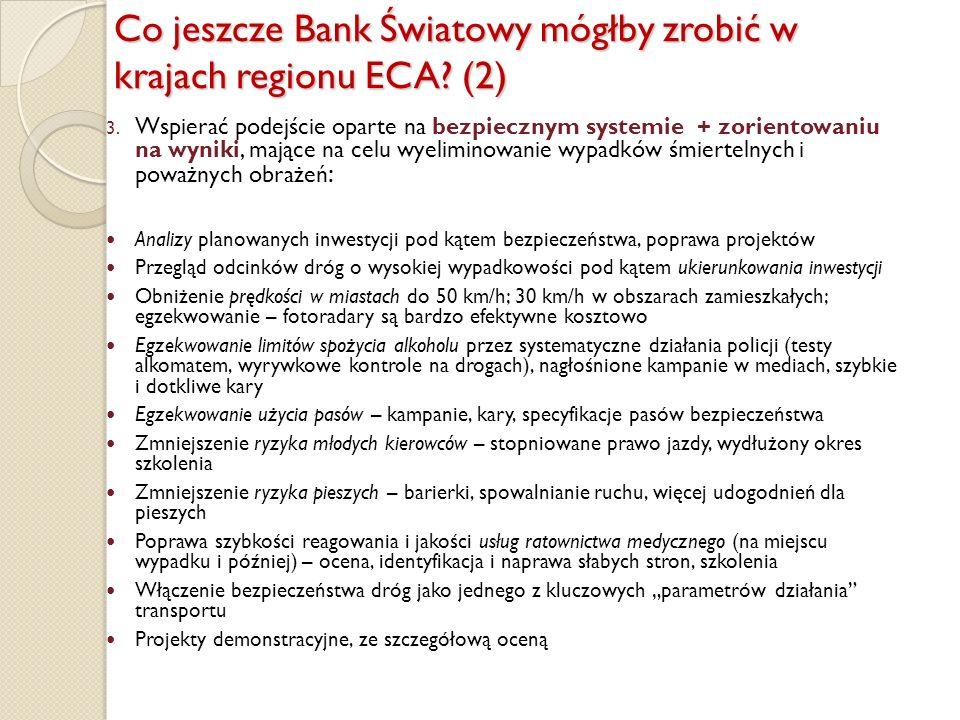 Co jeszcze Bank Światowy mógłby zrobić w krajach regionu ECA (2)