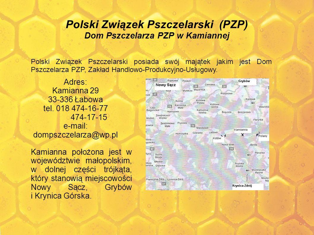 Polski Związek Pszczelarski (PZP) Dom Pszczelarza PZP w Kamiannej