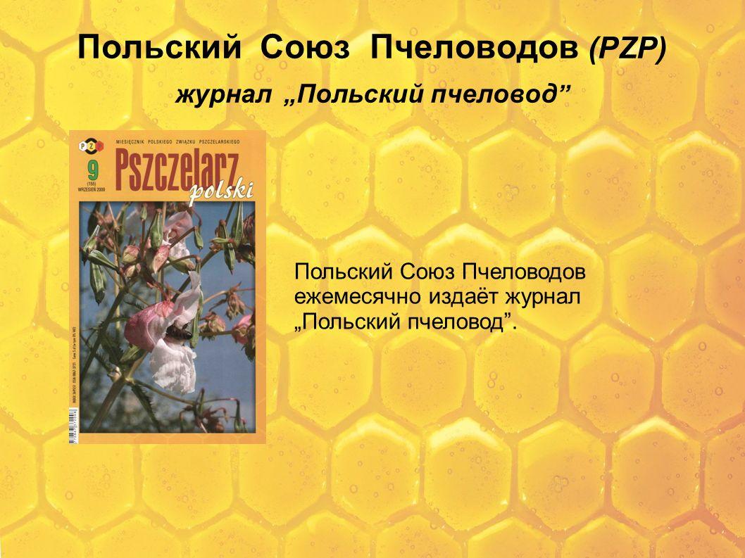 """Польский Союз Пчеловодов (PZP) журнал """"Польский пчеловод"""