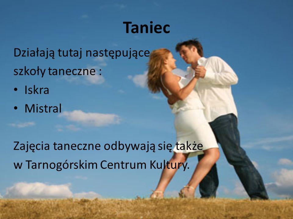 Taniec Działają tutaj następujące szkoły taneczne : Iskra Mistral