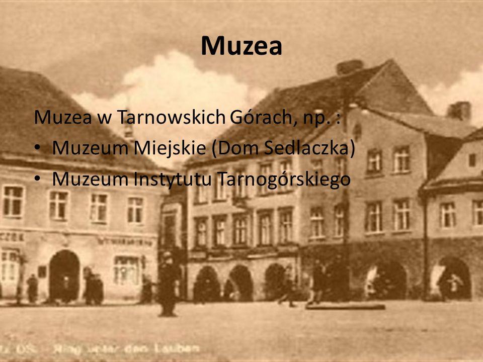 Muzea Muzea w Tarnowskich Górach, np. :