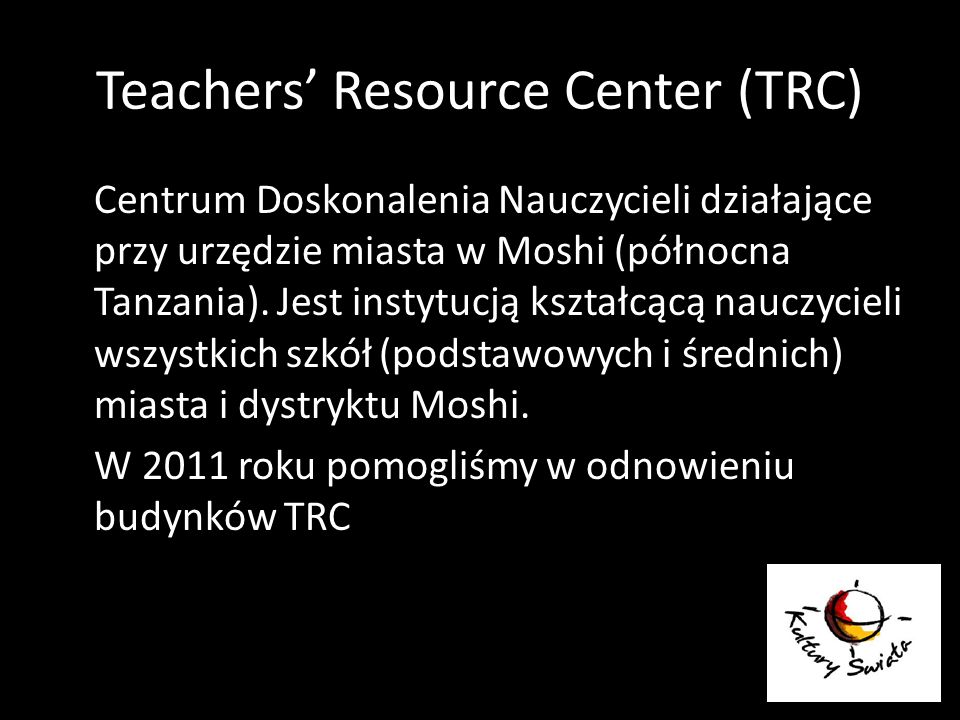 Teachers' Resource Center (TRC)