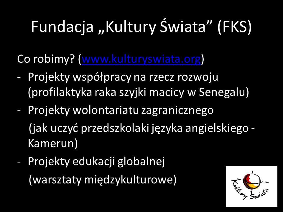 """Fundacja """"Kultury Świata (FKS)"""