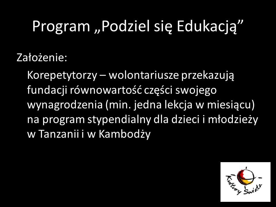 """Program """"Podziel się Edukacją"""