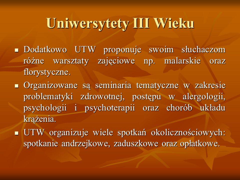 Uniwersytety III Wieku