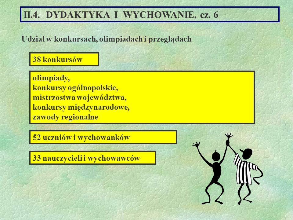II.4. DYDAKTYKA I WYCHOWANIE, cz. 6