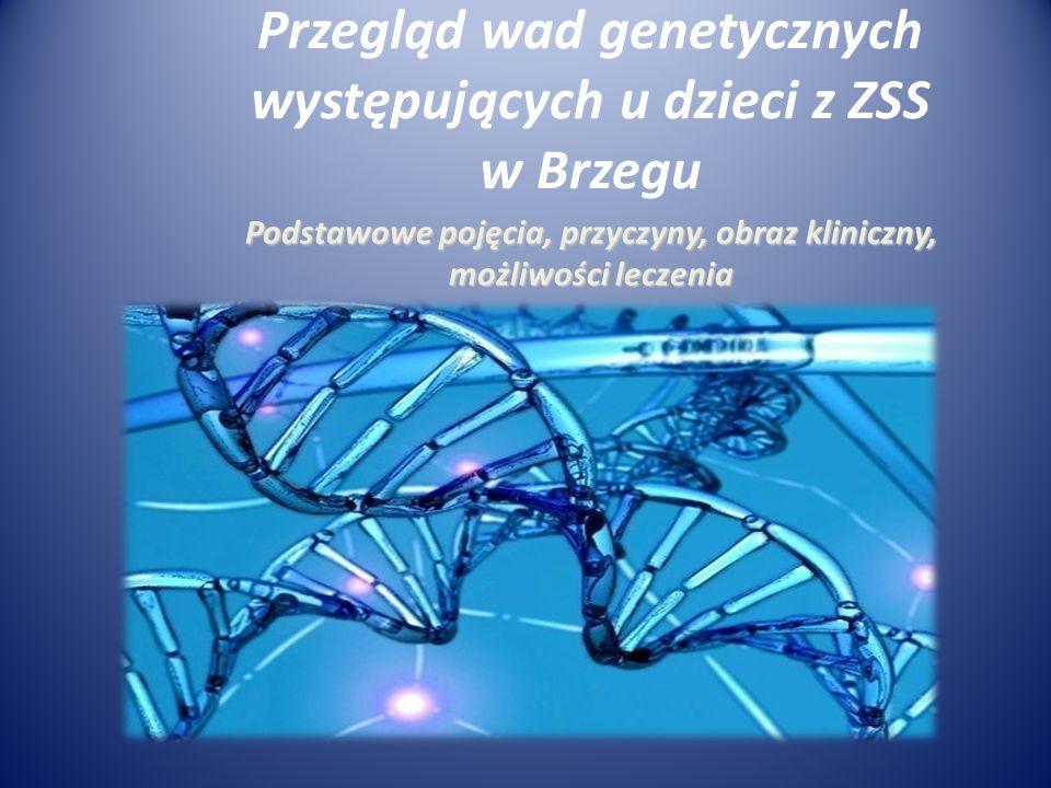 Przegląd wad genetycznych występujących u dzieci z ZSS w Brzegu
