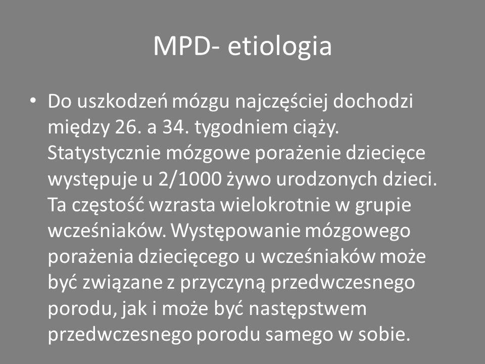 MPD- etiologia