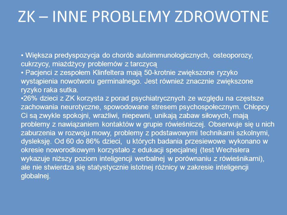 ZK – INNE PROBLEMY ZDROWOTNE