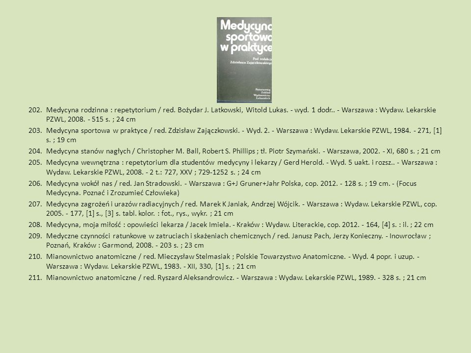 Medycyna rodzinna : repetytorium / red. Bożydar J