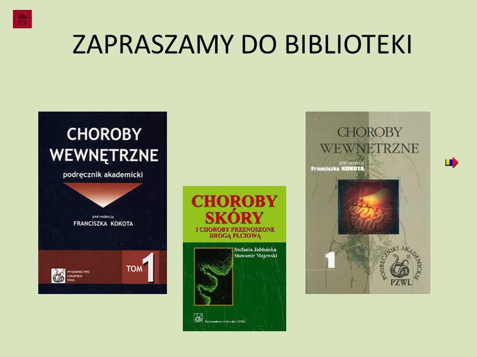 ZAPRASZAMY DO BIBLIOTEKI