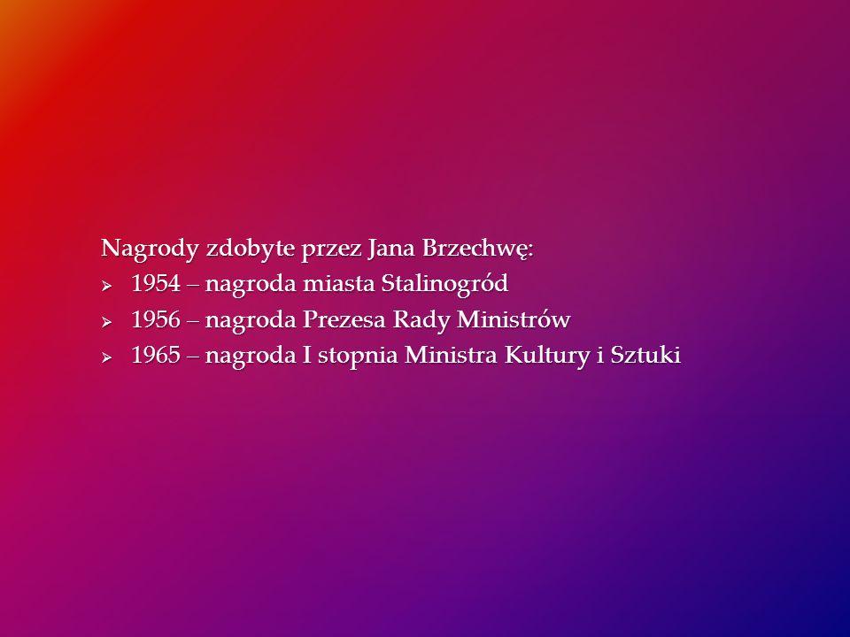 Nagrody zdobyte przez Jana Brzechwę: