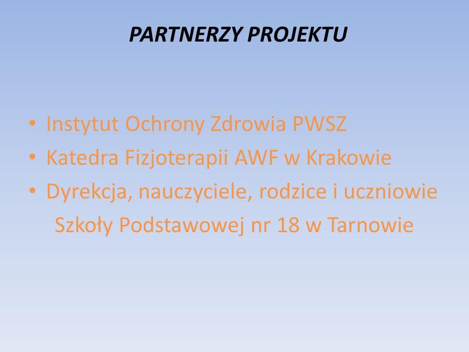 Instytut Ochrony Zdrowia PWSZ Katedra Fizjoterapii AWF w Krakowie