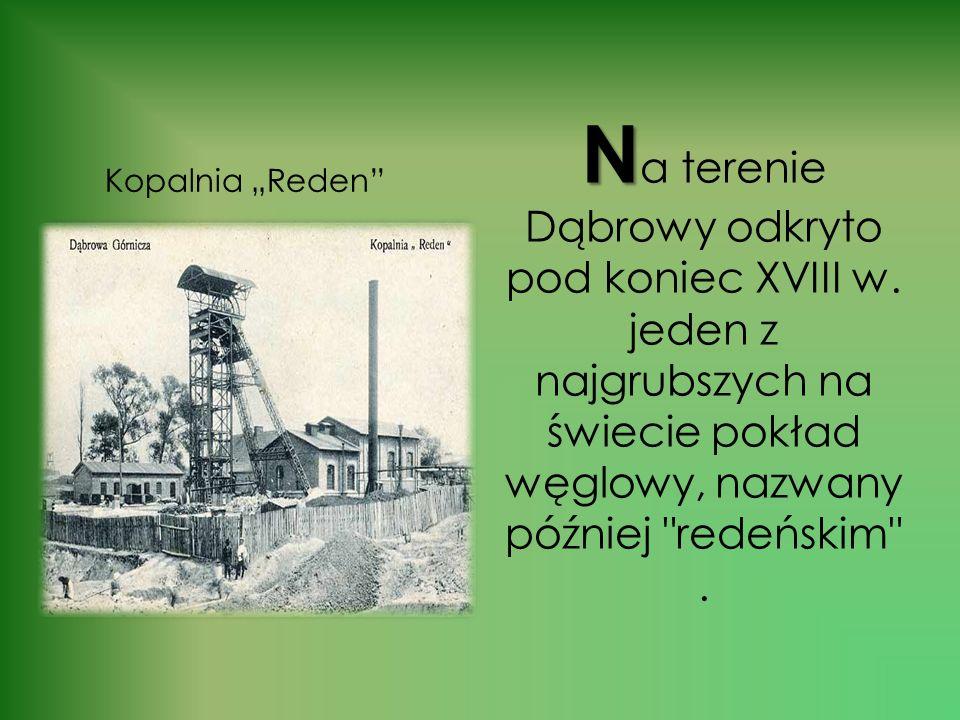 Na terenie Dąbrowy odkryto pod koniec XVIII w