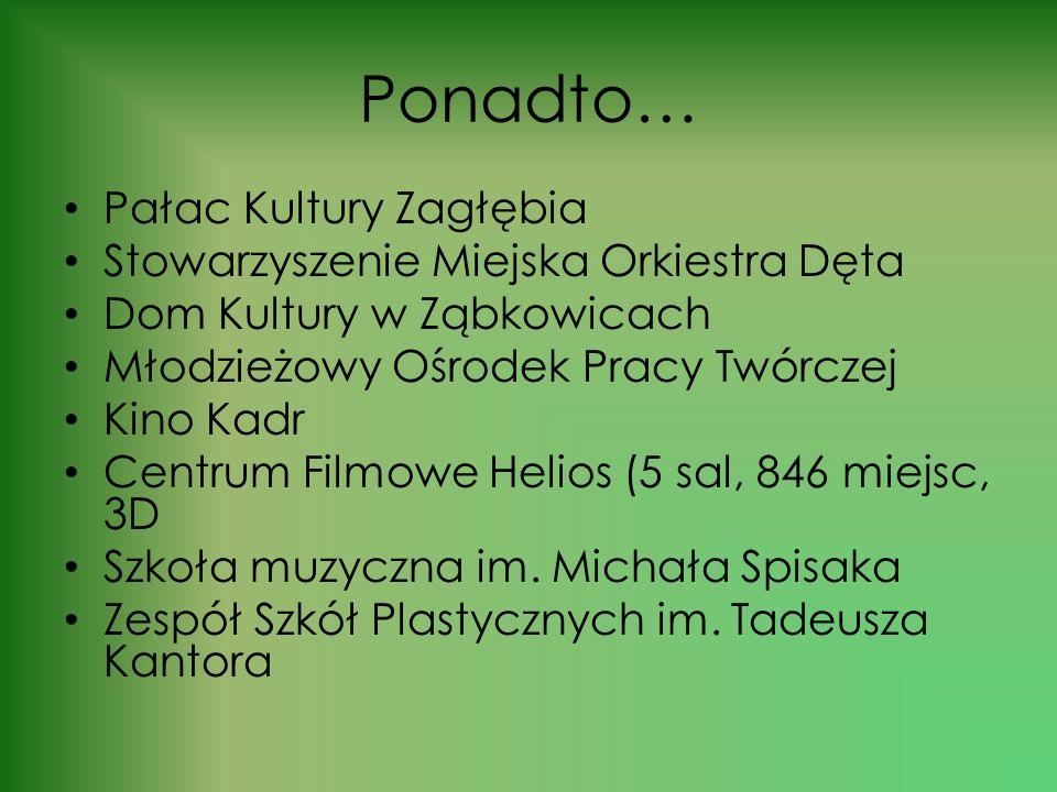 Ponadto… Pałac Kultury Zagłębia Stowarzyszenie Miejska Orkiestra Dęta