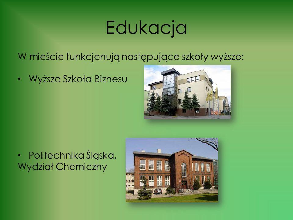 Edukacja W mieście funkcjonują następujące szkoły wyższe: