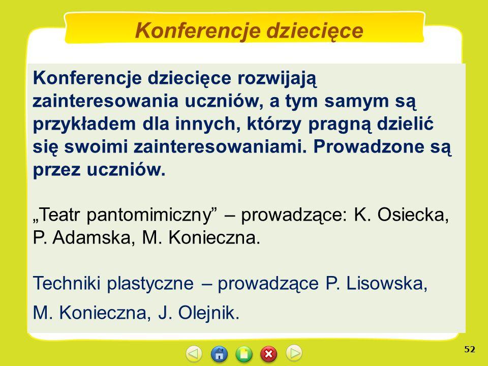Konferencje dziecięce