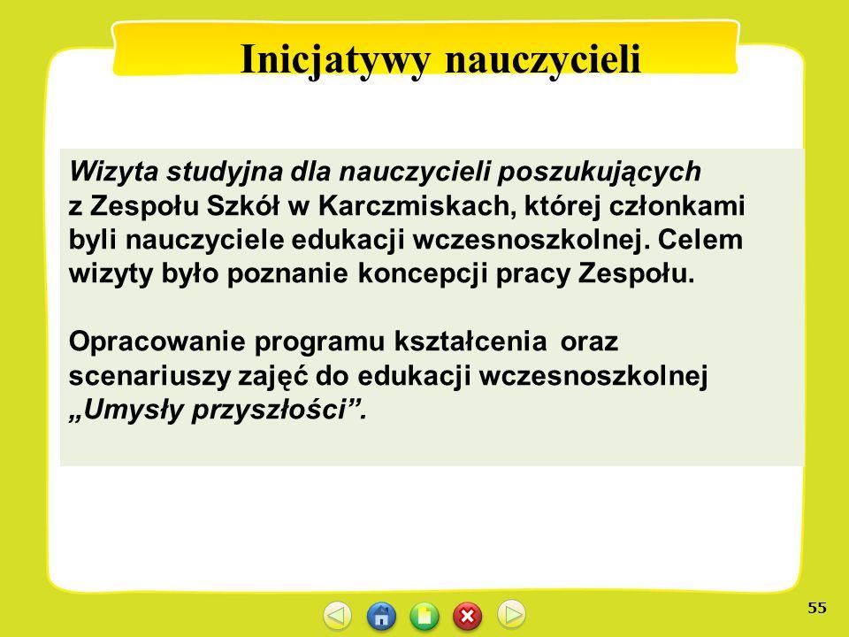 Inicjatywy nauczycieli