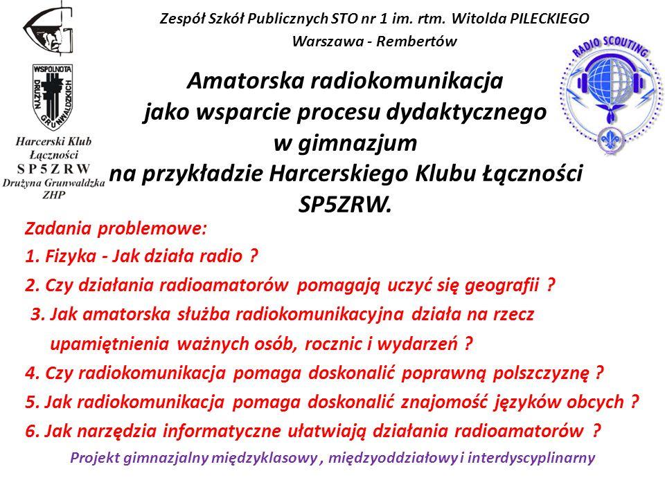 Zespół Szkół Publicznych STO nr 1 im. rtm. Witolda PILECKIEGO