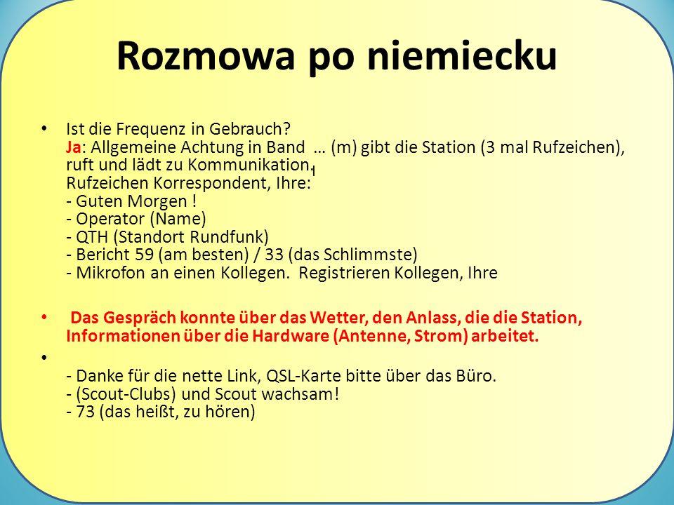 Rozmowa po niemiecku