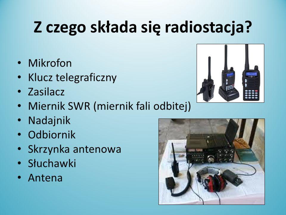 Z czego składa się radiostacja