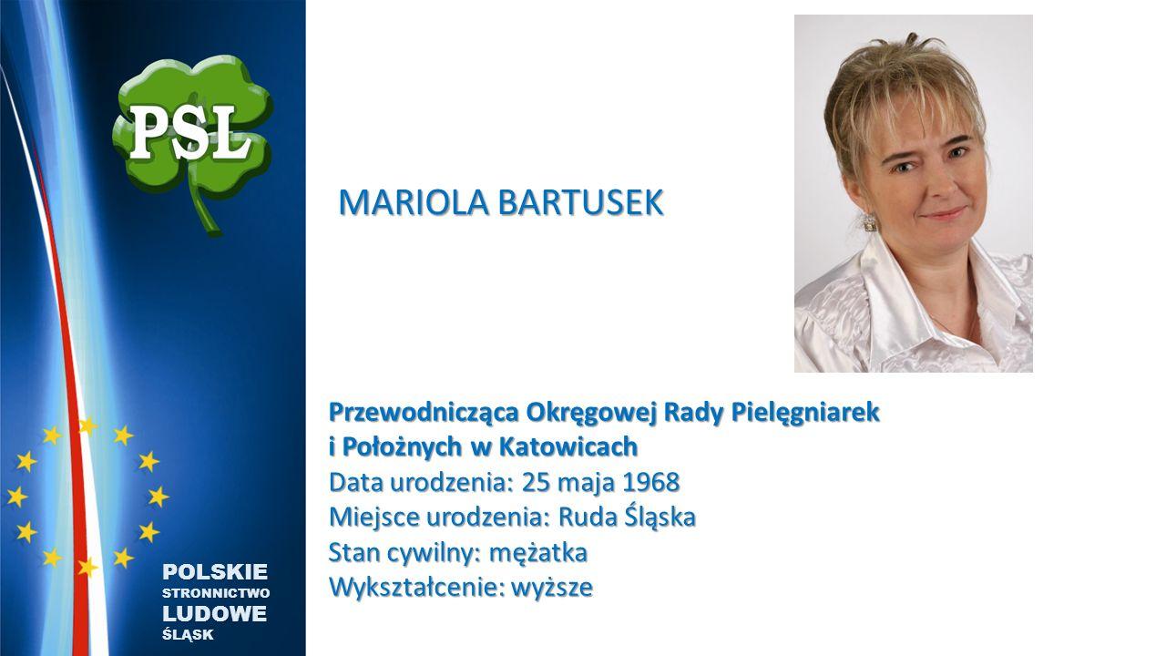 MARIOLA BARTUSEK