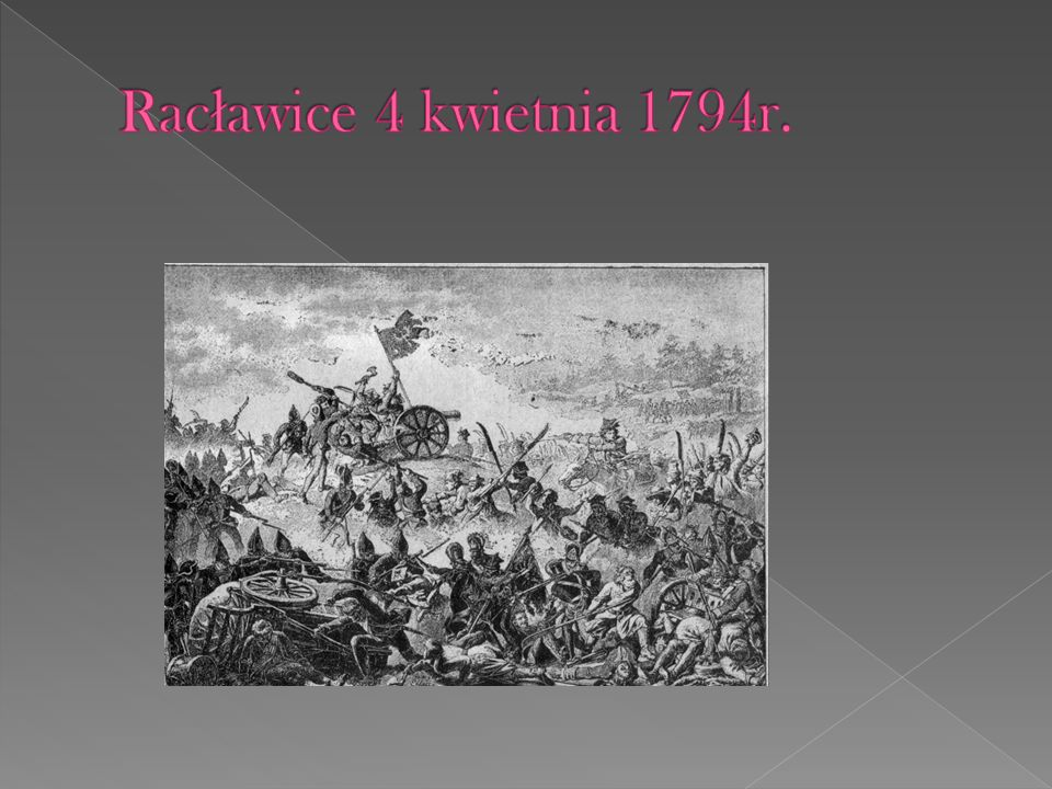 Racławice 4 kwietnia 1794r.