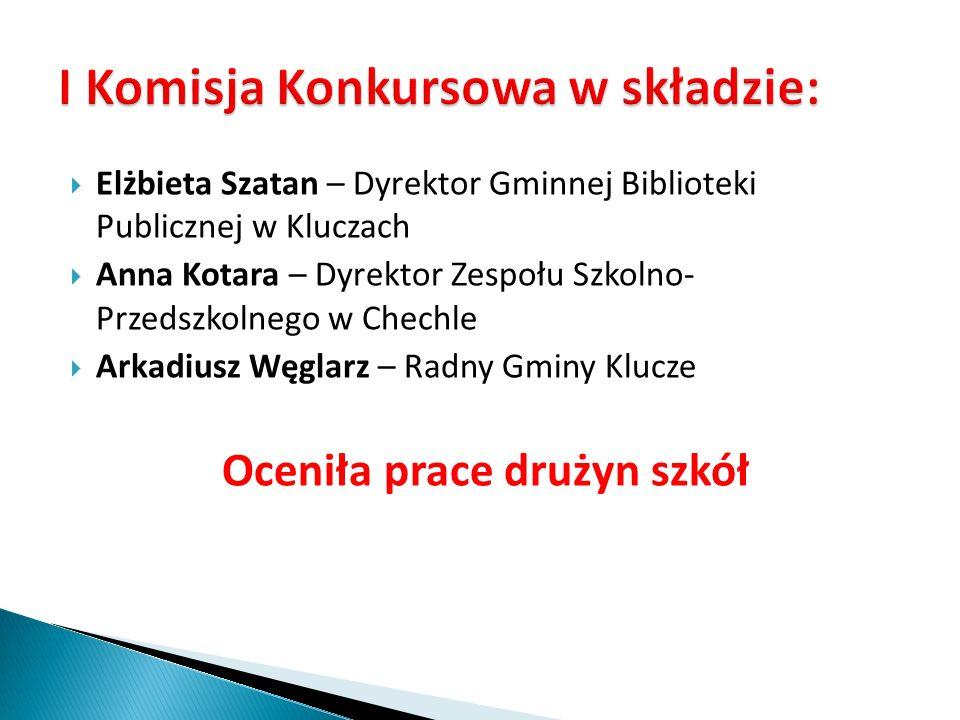 I Komisja Konkursowa w składzie: