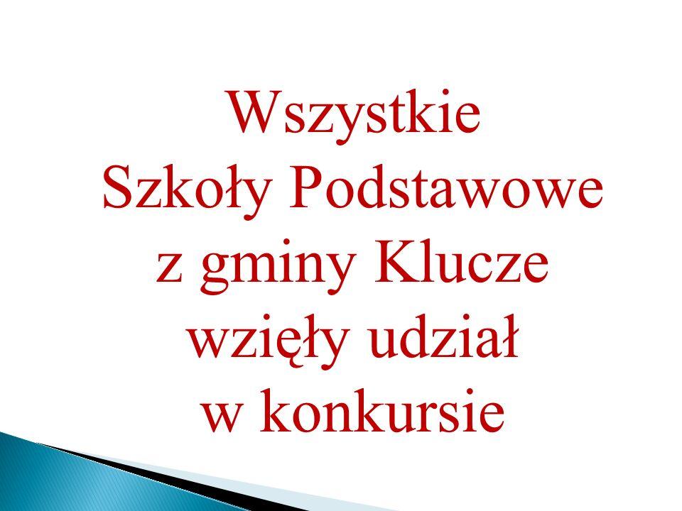 z gminy Klucze wzięły udział