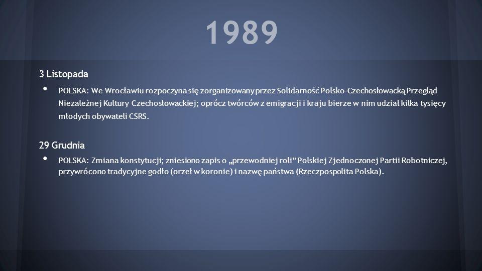 1989 3 Listopada.