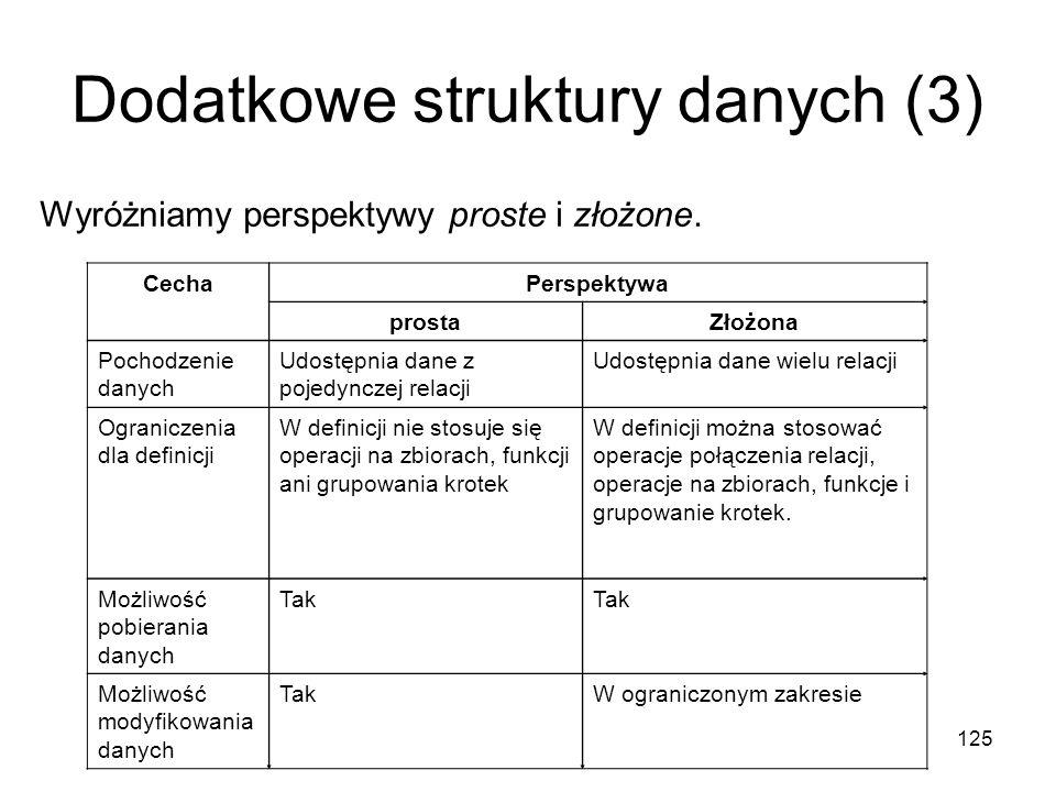 Dodatkowe struktury danych (3)