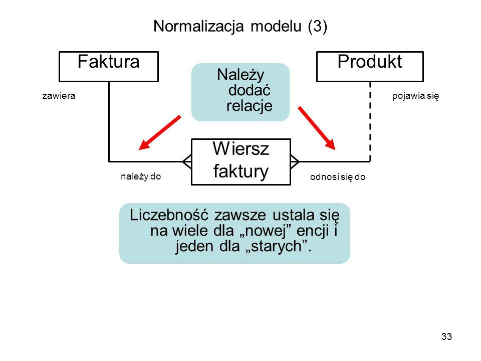 Normalizacja modelu (3)