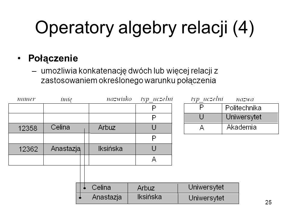 Operatory algebry relacji (4)