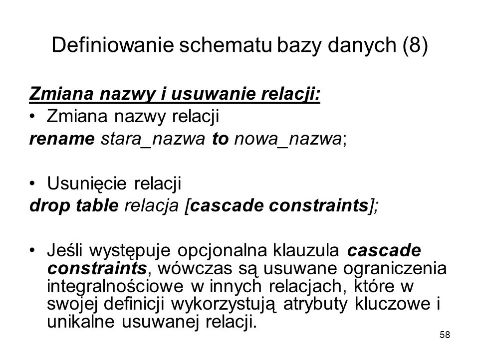 Definiowanie schematu bazy danych (8)