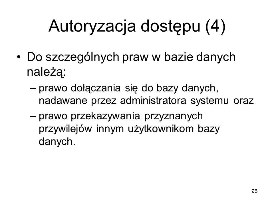Autoryzacja dostępu (4)