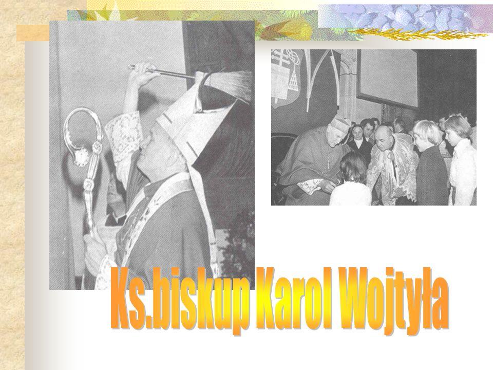 Ks.biskup Karol Wojtyła
