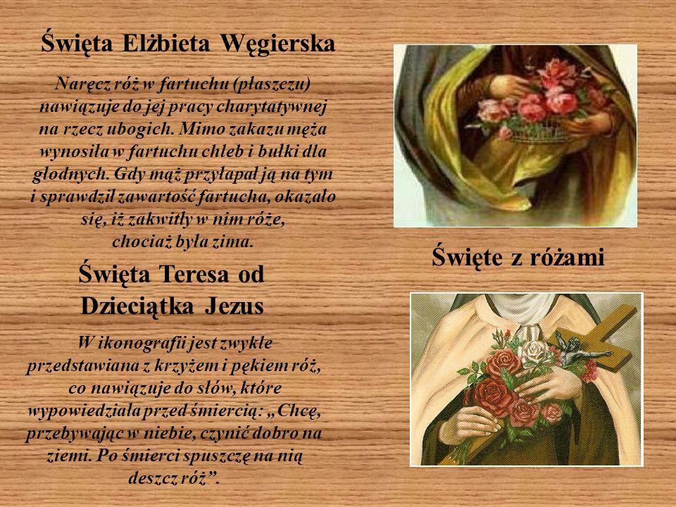 Święte z różami Święta Teresa od Dzieciątka Jezus