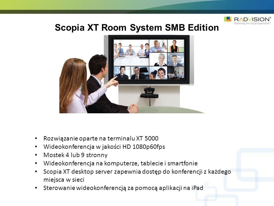 Scopia XT Room System SMB Edition
