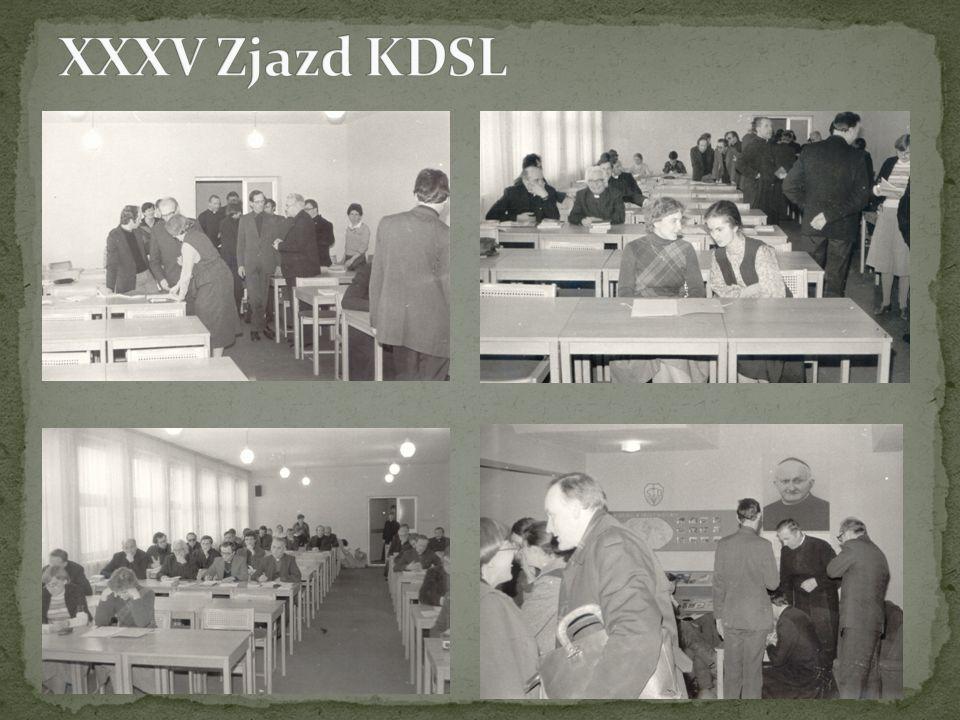 XXXV Zjazd KDSL