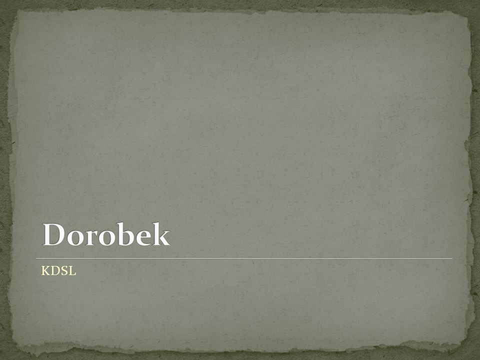 Dorobek KDSL
