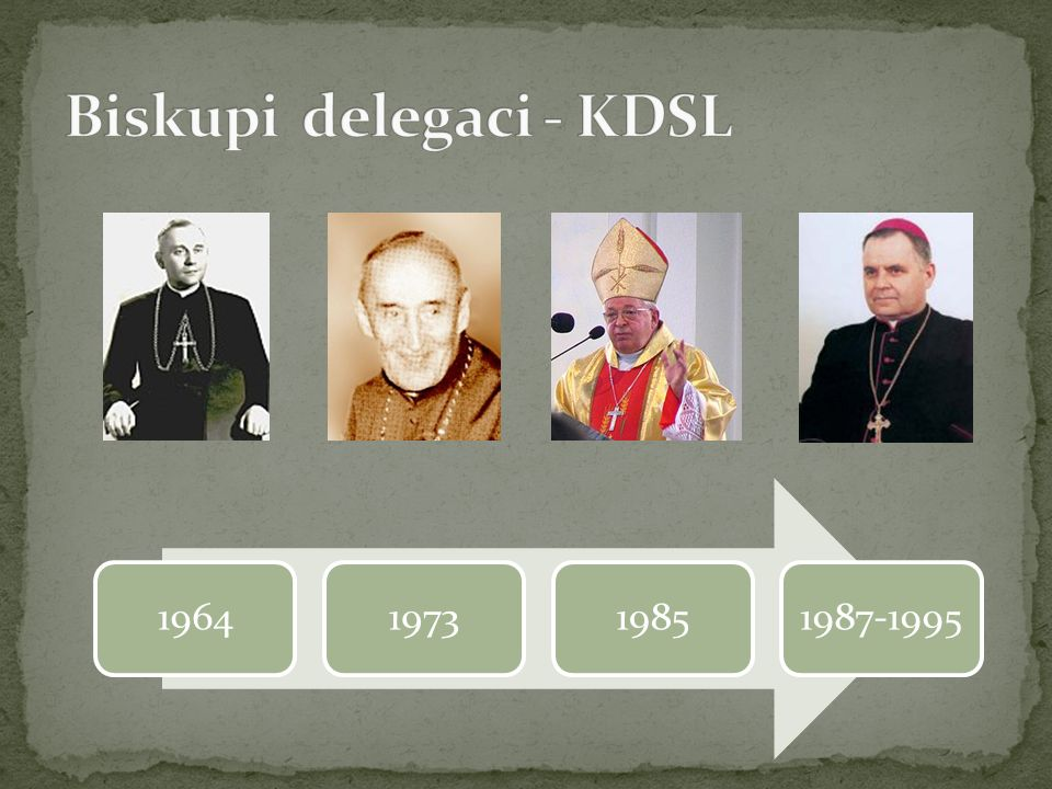 Biskupi delegaci - KDSL