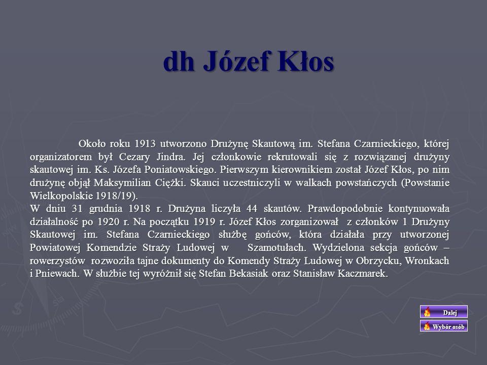 dh Józef Kłos