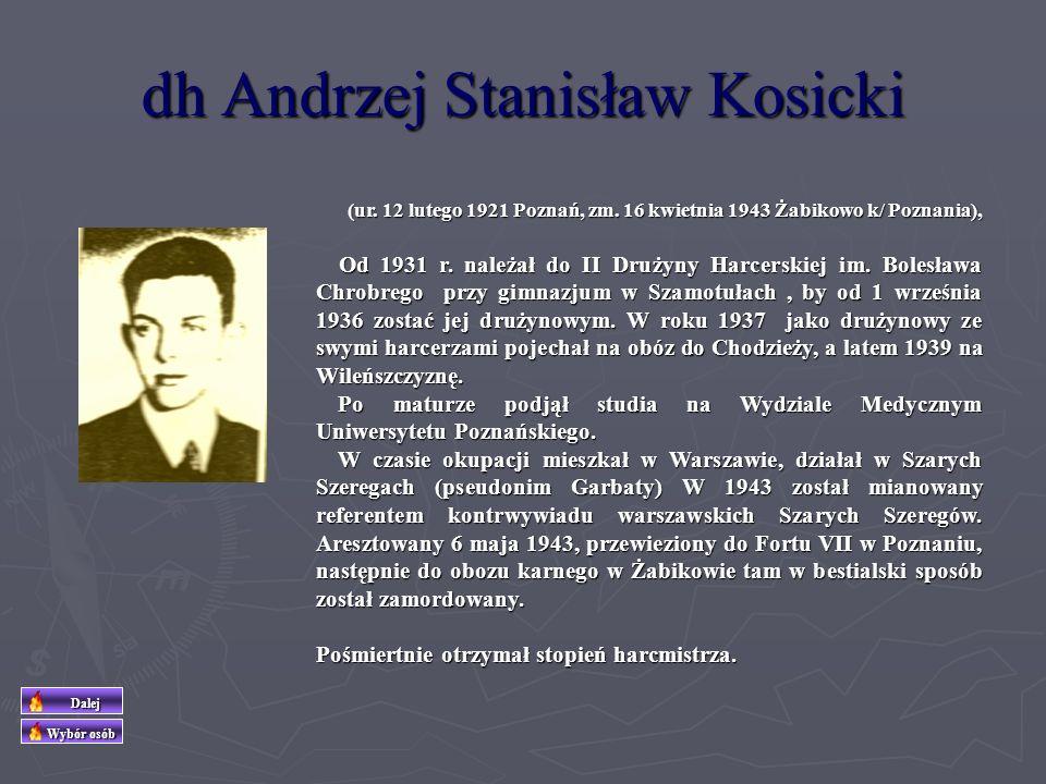dh Andrzej Stanisław Kosicki
