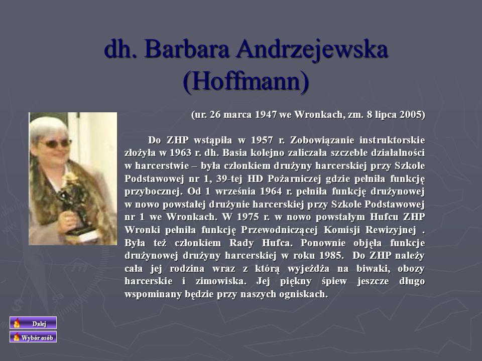 dh. Barbara Andrzejewska (Hoffmann)