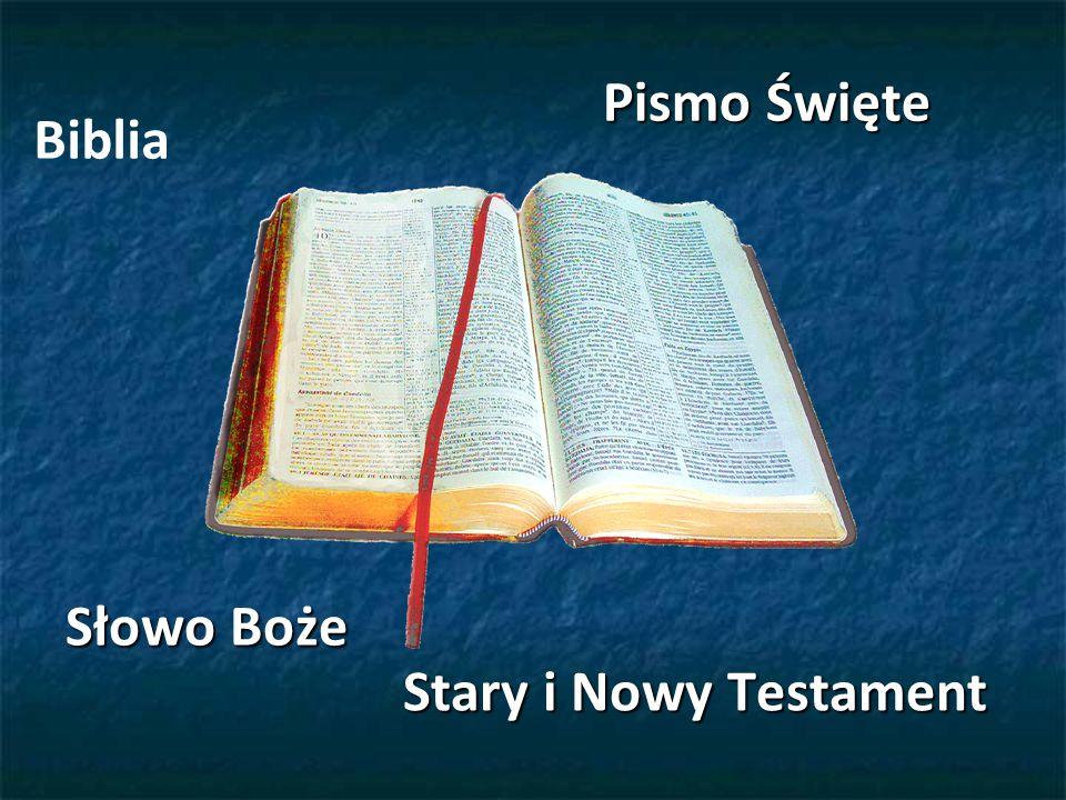 Pismo Święte Biblia Słowo Boże Stary i Nowy Testament