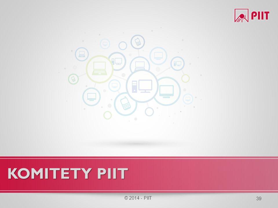 KOMITety PIIT © 2014 - PIIT