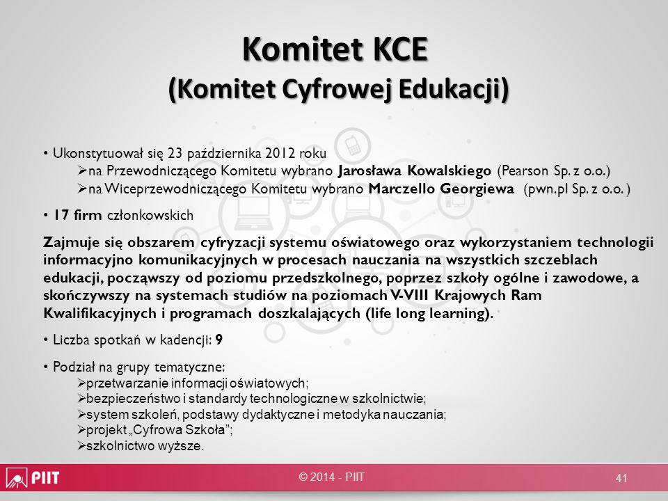 Komitet KCE (Komitet Cyfrowej Edukacji)